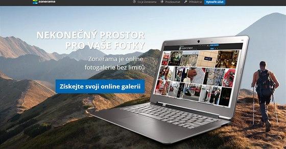 Zonerama.com slibuje automatickou zálohu a neomezený prostor pro fotky.