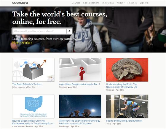 Coursera patří k nejpropracovanějším stránkám v oblasti MOOC (Massive Open...