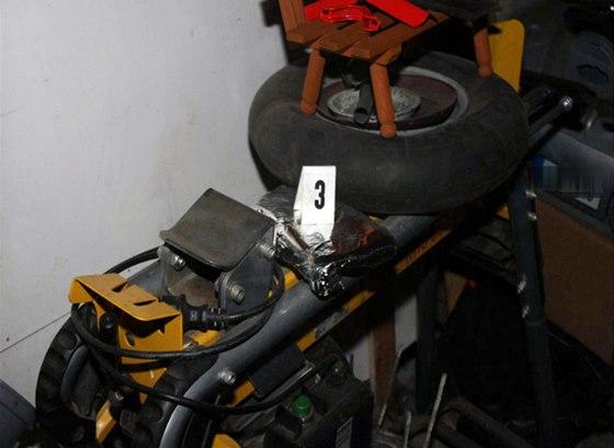 Vykradená garáž
