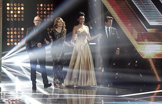 Porota X Factoru - Oto Klemp��, Celeste Buckingham, Sisa Sklovsk� a Ond�ej...