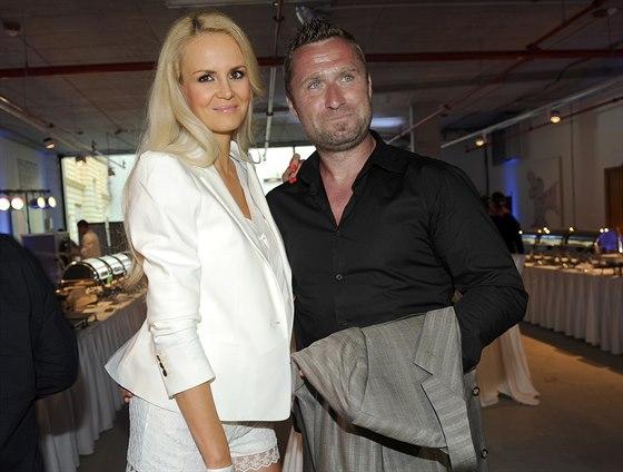 Lucie Hadašová a Jaroslav Bednář