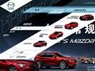 V Číně jsou v prodeji všechny generace Mazdy 6.