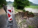 Následky bouřek na Rychnovsku (27. května 2014)