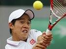 T̎K� �DER. Japonec Kei Ni�ikori nezvl�dl souboj s Martinem Kli�anem ze...