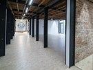 Interiéry sídla firmy Pospiech SD, které vzniklo přestavbou unimobuněk.
