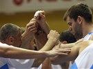 Basketbalisté Prostějova.