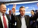 Je to maximum možného, řekli si po vyhlášení výsledků lídr do evropských voleb...