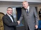 (Staro)noví europoslanci. Za ODS se do Evropského parlamentu dostali Jan...