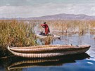Bájné a mysteriózní jezero Titicaca.