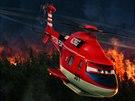 z filmu Letadla 2: Strážce Břitva je veterán mezi hasiči a záchranáři, který...