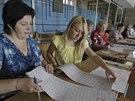Volební komise v Dněpropetrovsku (25. května 2014)
