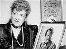 Alma Mahlerová jako věčná vdova. Přestože se po smrti skladatele Mahlera ještě...