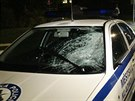 Po srážce s městskou policií zemřel v Kladně chodec. (27. května 2014)