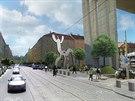 Vize Jarom�rovy ulice podle AutoMatu