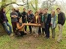 Autoři projektu, absolventi a studenti Zahradnické fakulty Mendelovy univerzity.