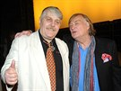 Ivan Jonák s režisérem filmu Vítem Olmerem
