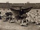 VIII. všesokolský slet v Praze 1926 (z výstavy Hudba a politika)