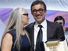 Režisér vítězného snímku festivalu v Cannes 2014 Kis uykusu Nuri Bilge Ceylan s...