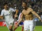 VÍTĚZNÁ TEČKA. Cristiano Ronaldo z Realu Madrid stanovil proměněnou penaltou konečný výsledek finále Ligy mistrů 4:1.