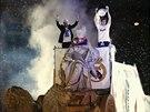 OSLAVA S BOHYNÍ. Všechny oslavy Realu Madrid jsou tradičně spojené také s...