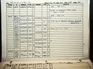 Takhle třeba vypadají záznamy o hledání mimozemského života ze 3.12. 2003....
