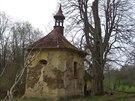 Výškovice u Mariánských Lázní už připomíná jen ruina kaple.