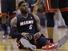 Miamské hvězdě LeBronu Jamesovi se tentokrát nevedlo tak jak je zvyklý. Během...