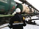 Rusk� ropn� gigant Rosn�f�. Ilustra�n� sn�mek.