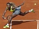 Serena Williamsová v prvním kole Roland Garros