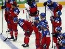 Čeští hokejisté skončili na mistrovství světa v Bělorusku na čtvrtém místě.