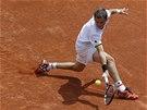 Tenista Alexandr Nědovjesov se pral ve druhém kole Roland Garros proti Tomáši