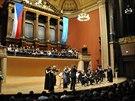 Z koncertu Freiburger Barockorchester (18. května 2014)