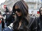 Kim Kardashianová v Paříži