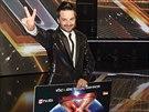 Finále soutěže X Factor - Peter Bažík vyhrál celou soutěž a získal 200 tisíc...