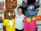 Tom� Verner se objev� v ledn� show Jen po�kej, zaj�ci!