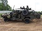 Štábní automobil Land Rover Kajman