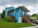 První obyvatelé se začali stěhovat v roce 2009, čtyři roky po ničivém hurikánu.