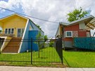 Díky Bradu Pittovi stojí v New Orleans nové barevné domky.
