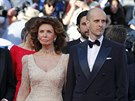 Sophia Lorenová a její syn Edoardo Ponti (Cannes, 20. května 2014)