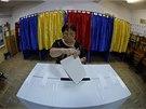 Volby do Evropského parlamentu v rumunské Bukurešti (25. 5.).