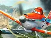 z filmu Letadla 2: Prášek Skočdopole, slavný závodník, musí zvolnit tempo a tak...