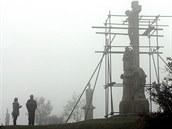 V roce 2009 prošlo sousoší Ukřižování na Křížovém vrchu důkladnou renovací