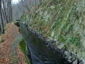 Weisshunův kanál, dlouhý 3,6 kilometrů. má sklon 23 stupňů.