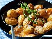 Pečené nové brambory
