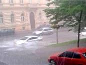 Voda v Praze