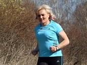 Cíl Hany Havalcové: maraton
