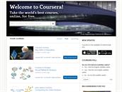 Coursera nabízí kurzy podobně, jako univerzita, studujete tedy spolu s...
