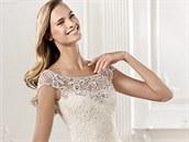 Svatební šaty z kolekce Atelier Pronovias 2014, model Yalena