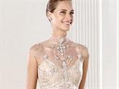Svatební šaty z kolekce Atelier Pronovias 2014, model Yalim