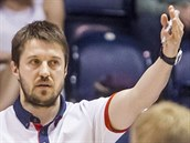 Du�an Bohunick�, tren�r basketbalov�ch Pardubic